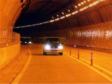 ハイバン峠のトンネル